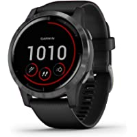 Garmin vívoactive 4, reloj inteligente GPS, cuenta con música, control de energía corporal, entrenamientos animados…