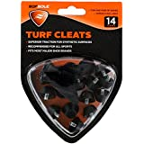 Sof Sole Nylon Turf Replacment Cleats for Football Shoes, 14-Cleats