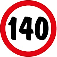 Artimagen Pegatina Prohibido 140 ø 70 mm/ud.