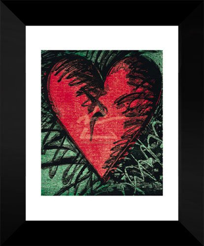 Jim Dine Framed Art Print 18x15