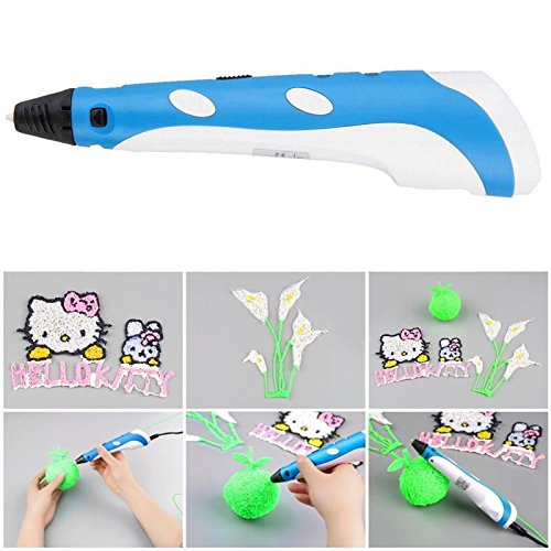 RCLITE 3D Printing Pen for Doodling, Art & Craft Making, 3D Modeling and Education, Gift Comes with 3pcs ABS Filament(Random Color)