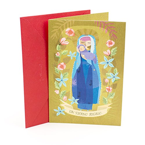 Galleon hallmark vida spanish christmas greeting card madonna and galleon hallmark vida spanish christmas greeting card madonna and child m4hsunfo