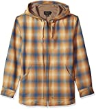 Pendleton Men's Wool Hoody, Tan/Blue Ombre, MD