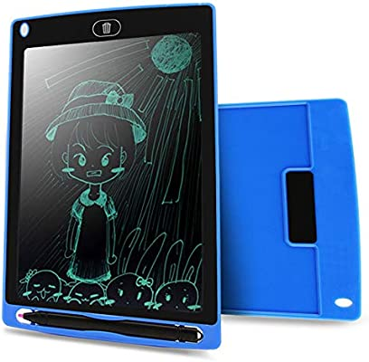 Electronics Howshow 8.5 inch LCD Pressure Sensing E-Note Paperless Writing Tablet//Writing Board Black Color : Black
