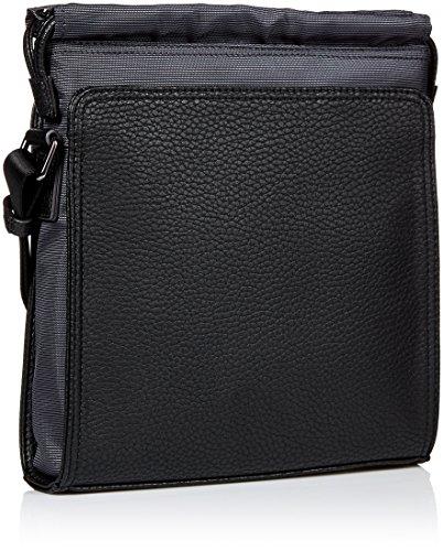 Armani Jeans borsa uomo a tracolla borsello originale flat nero