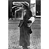 Photographic Print of English suffragette, feminist newspaper, 1908 by Media Storehouse
