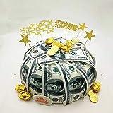 24 Precut 100 Dollar Bill Edible Money Image Wafer Paper for Cake Decorating Cupcake Decorations. Precut Edible Paper Fake Mo