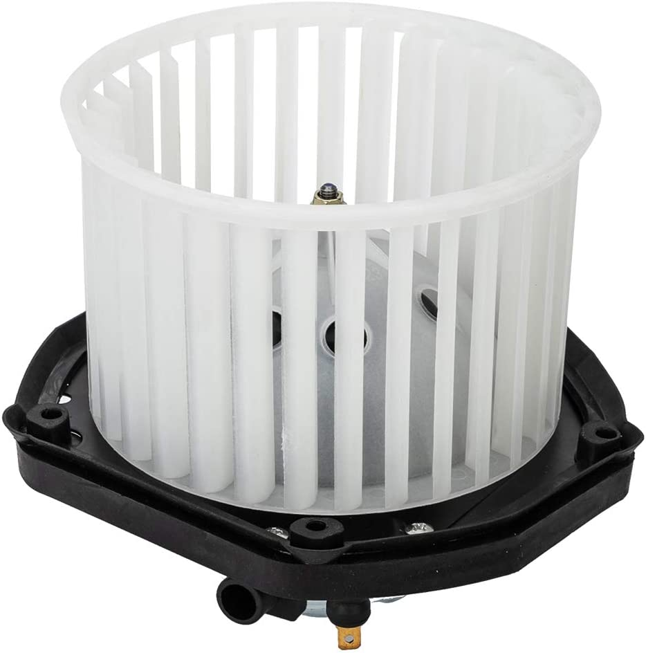 MOTOOS Heater Blower Motor ABS Plastic w//Fan Cage Fit for 1997 1998 1999 GMC C1500 C2500 C3500 Suburban