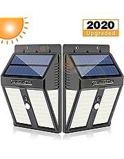Solar Lights Outdoor, Dothnix Upgraded 146 LED Solar Motion Sensor Security Lights, Solar Powered Outdoor Lights, Wide-Angle Motion Sensor, IP65 Waterproof Wireless Wall Lights Solar Lamps(2 Pack)