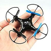 NiGHT LiONS TECH N58 Pocket Mini RC Quadcopter 2.4GHz Headless Mode One Key Return Drone RTF toy (Black)