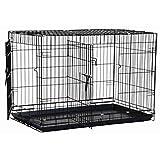 Precision Pet Black Great Crate 2 Door 48-Inch x 30-Inch x 33-Inch