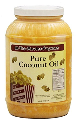 Coconut Popcorn Popping Oil Gallon product image