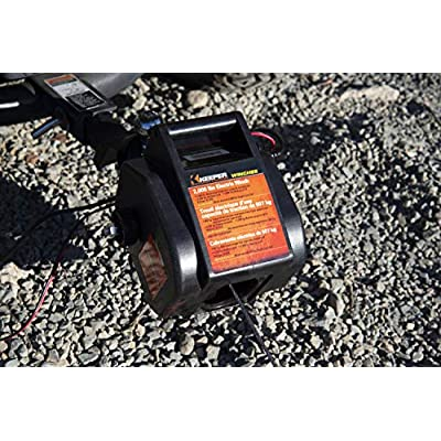 KEEPER KTSL2000RM 12V DC Rapid Mount Portable Winch with Handheld Remote - 6000 lbs. Load Capacity: Automotive