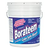 Dial 871882 Borateem Non-Chlorine Color Safe Bleach,17.5 lb Pail, 424 Loads