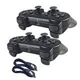 Nesada 2 Packs Wireless Bluetooth Controllers For