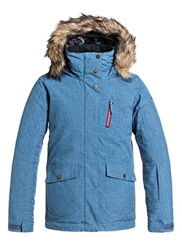 Roxy Big Girls' Tribe Snow Jacket, Ensign Blue, 16/XX-Large