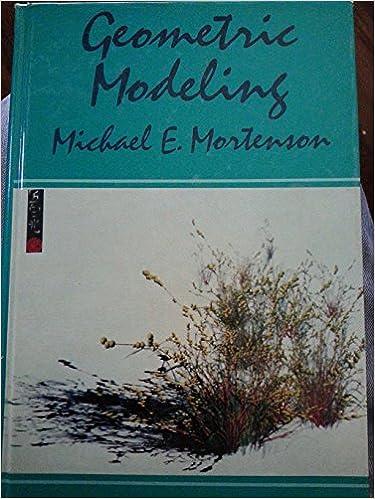 Geometric Modelling