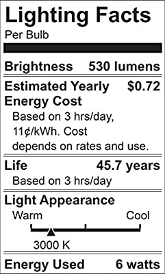 Maxxima LED Porch Lantern Outdoor Wall Light, Black w/Clear Glass, Photocell Sensor, 530 Lumens, Dusk to Dawn Light Sensor, 3000K Warm White