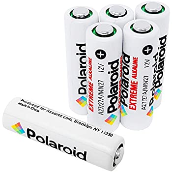 Polaroid Extreme 27A A27 L828 12V Alkaline Batteries (6 Pack)