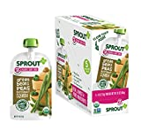 green baby food - Sprout Organic Baby Food Pouches Stage 2 Sprout Baby Food, Green Beans Peas Butternut Squash, 4 Ounce (Pack of 5); USDA Organic, Non-GMO, Made with Whole Foods, No Preservatives, Nothing Artificial