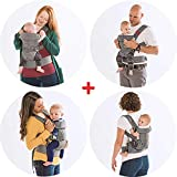 YOU+ME 4-in-1 Ergonomic Baby Carrier, 8 - 32 lbs
