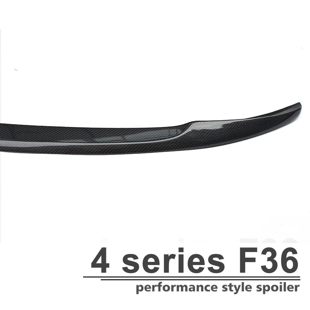 MP Style Fibre de carbone Spoiler Coffre arri/ère pour 4/S/érie F36/4/portes Gran Coup/é