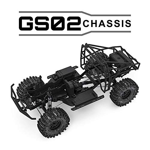 Gmade 57000 1/10 GS02 BOM 4WD Ultimate Trail Truck Kit
