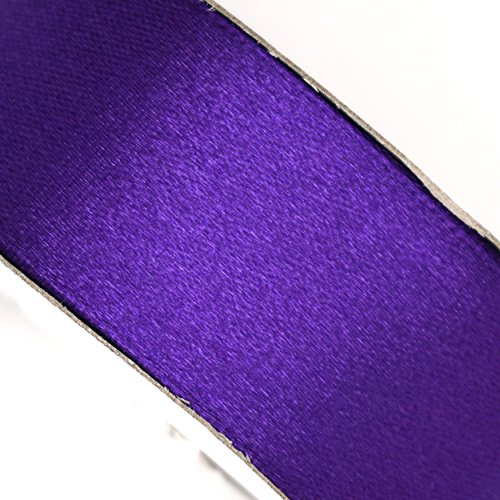 Purple Satin Ribbon 5/8 in