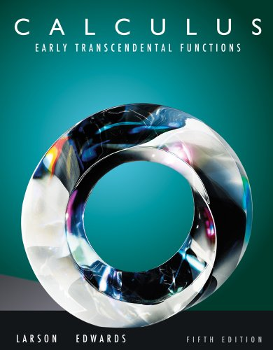 Bundle: Calculus: Early Transcendental Functions, 5th + WebAssign Printed Access Card for Larson/Edwards' Calculus: Early Transcendental Functions, 5th Edition, Multi-Term -  Hardcover
