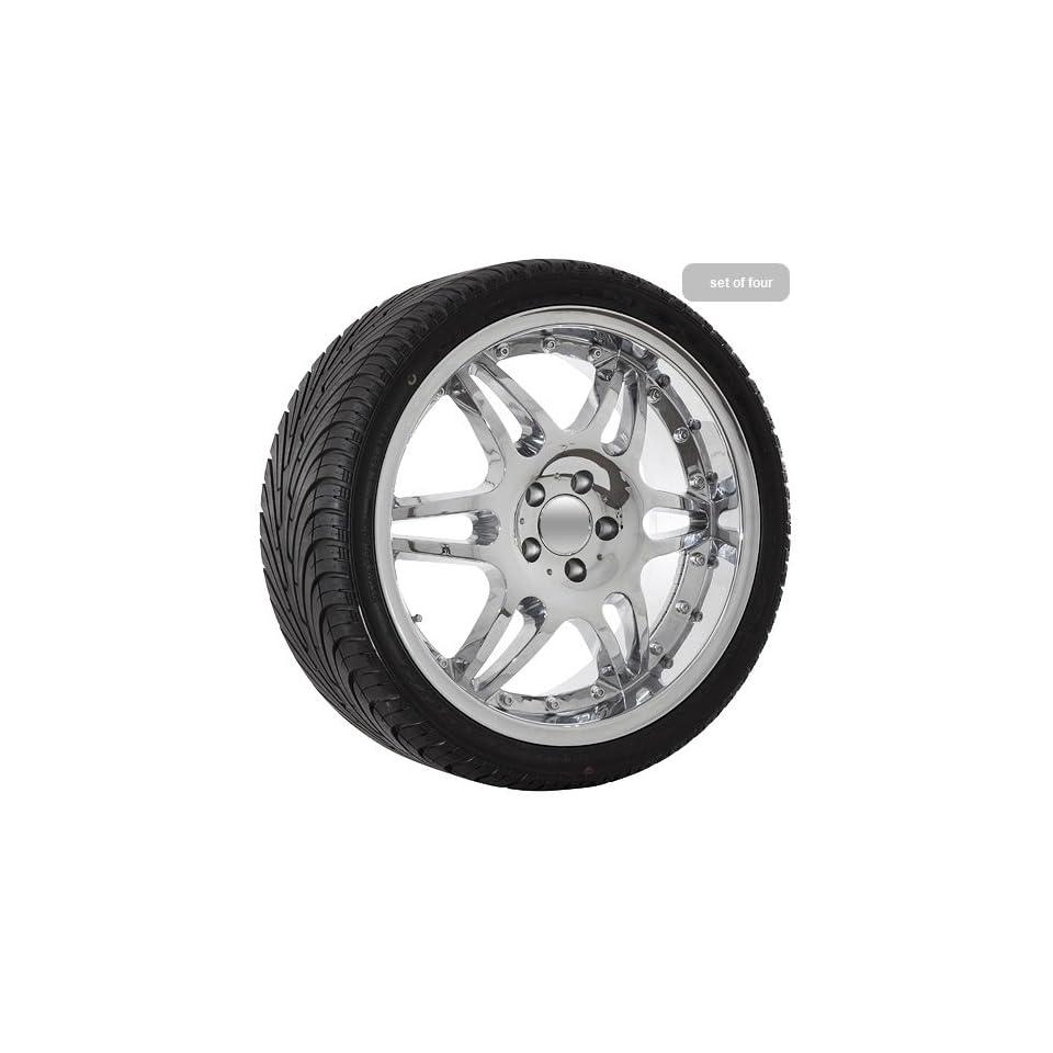 20 Mercedes Benz CL CLK E S SL chrome wheels rims tires