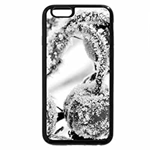 iPhone 6S Plus Case, iPhone 6 Plus Case (Black & White) - Winter Cherries