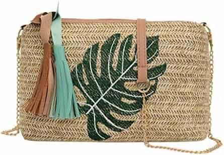 97a199b42ddf Shopping Multi or Greens - Straw - Handbags & Wallets - Women ...