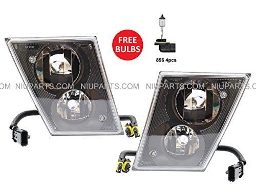 03-15 Dual Double Bulb Fog Lamp - Driver & Passenger Side ( Fit: Volvo VNL VN VNM Truck - Light Volvo Truck Fog
