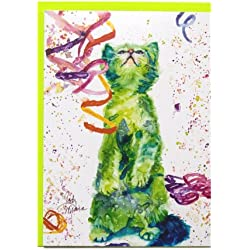 Rainbow Card Company Caustic Cats Birthday Card - Tom