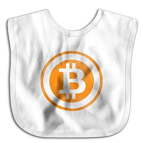 Bitcoin Logo 2017 Newborn Baby Boys Girls Skin-friendly Saliva Towel - To Usps Prices Canada
