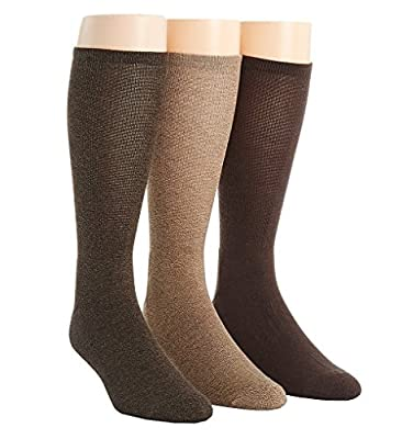 Calvin Klein Men's 3 Pack Orlando Pima Cotton Crew Sock