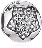 Pandora 791056CZ - Abalorio de plata de ley con circonita