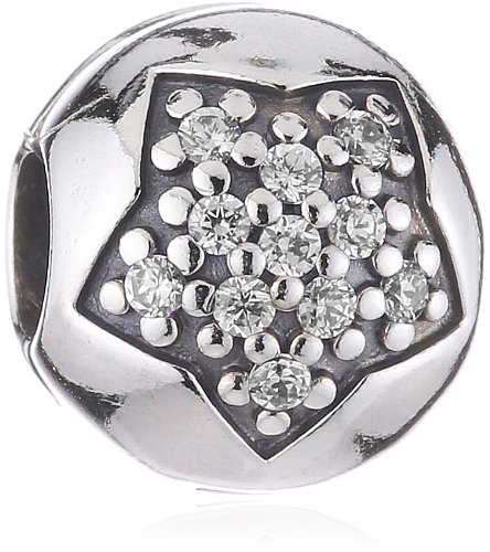 Pandora - 791056CZ - Drops Femme - Argent 925/1000 - Etoile - Oxyde de Zirconium