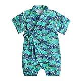 PAUBOLI Baby Japanese Kimono Robe Cotton Infant