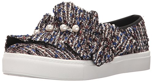 Lavanderia Sporca Cinese Lavanderia Donna Jean Genie Fashion Sneaker Blu / Multi Tweed
