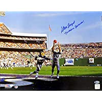 $136 » Authentic Autographed Steve Largent 16x20 Photo Seattle Seahawks Touchdown Seahawks! ~ Beckett BAS Certified