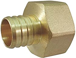 Adapter Pex 1inch Brass Female