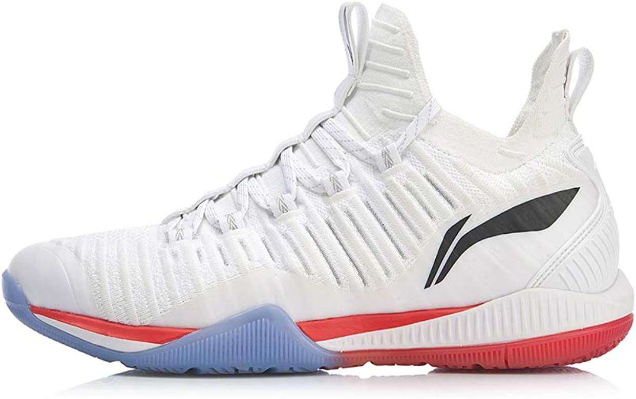 LI-NING 2019 AYZP005-1 - Zapatillas de bádminton, Color Blanco, Negro (Ayzp005-1-white), 42.5 EU: Amazon.es: Zapatos y complementos
