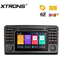 XTRONS 7 Android 8.0 Octa Core 4G RAM 32G ROM HD Digital Multi-touch Screen DVR Car Stereo DVD Player Tire Pressure Monitoring Wifi OBD2 for Mercedes Benz X164 W164 ML GL