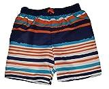 Toddler Boys Orange Opulence stipes Swim Short Trunk - 5T