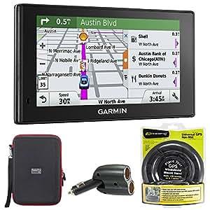 Garmin 010-01538-01 DriveSmart 70LMT GPS Navigator with GPS Bundle