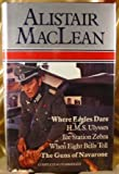Where Eagles Dare; H. M. S. Ulysses; Ice Station Zebra; When Eight Bells Toll; Guns Of Navarone by Alistair MacLean(January 1, 1980) Hardcover