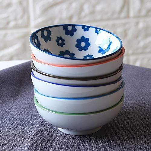 SDKJHF//Ceramic 3 inch Small Round Dish Seasoning Dish Japanese Soy Sauce Mustard Vinegar Dish Household Small Pickle Tahini Sauce Dishs