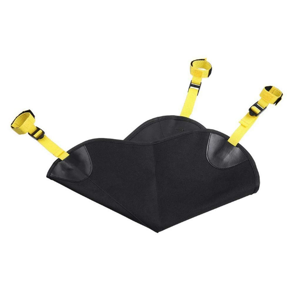 LSX Outdoor Tripod Windproof Fixed Sandbag, Super Heavy Duty Design Bags for Photo Video Studio Stand,Backyard,Outdoor Patio,Sports -(Black) by LSX