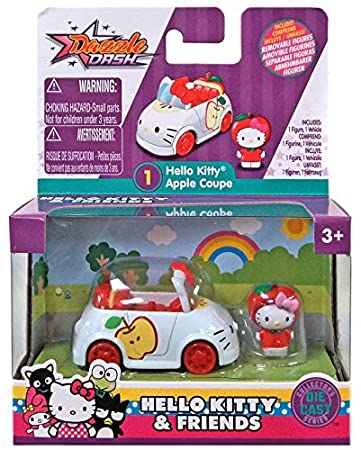 Amazon.com: Hello Kitty & Friends Kitty - Cupé de manzana ...
